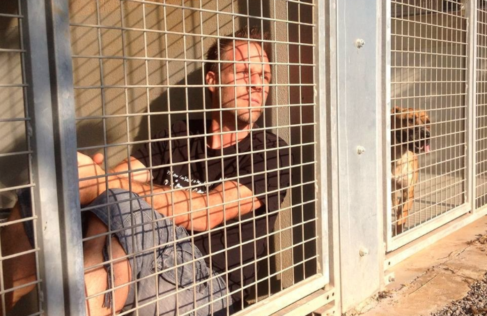 Animal Lover Locks Himself Inside Kennel at Shelter To Draw Attention To Pet Adoption